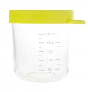 Glass Silicone Container Neon