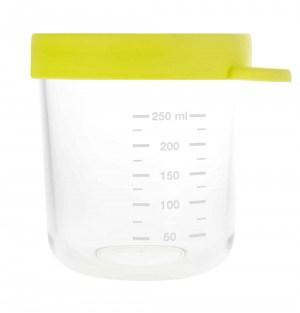 Béaba Glass & Silicone Container 8oz - Neon