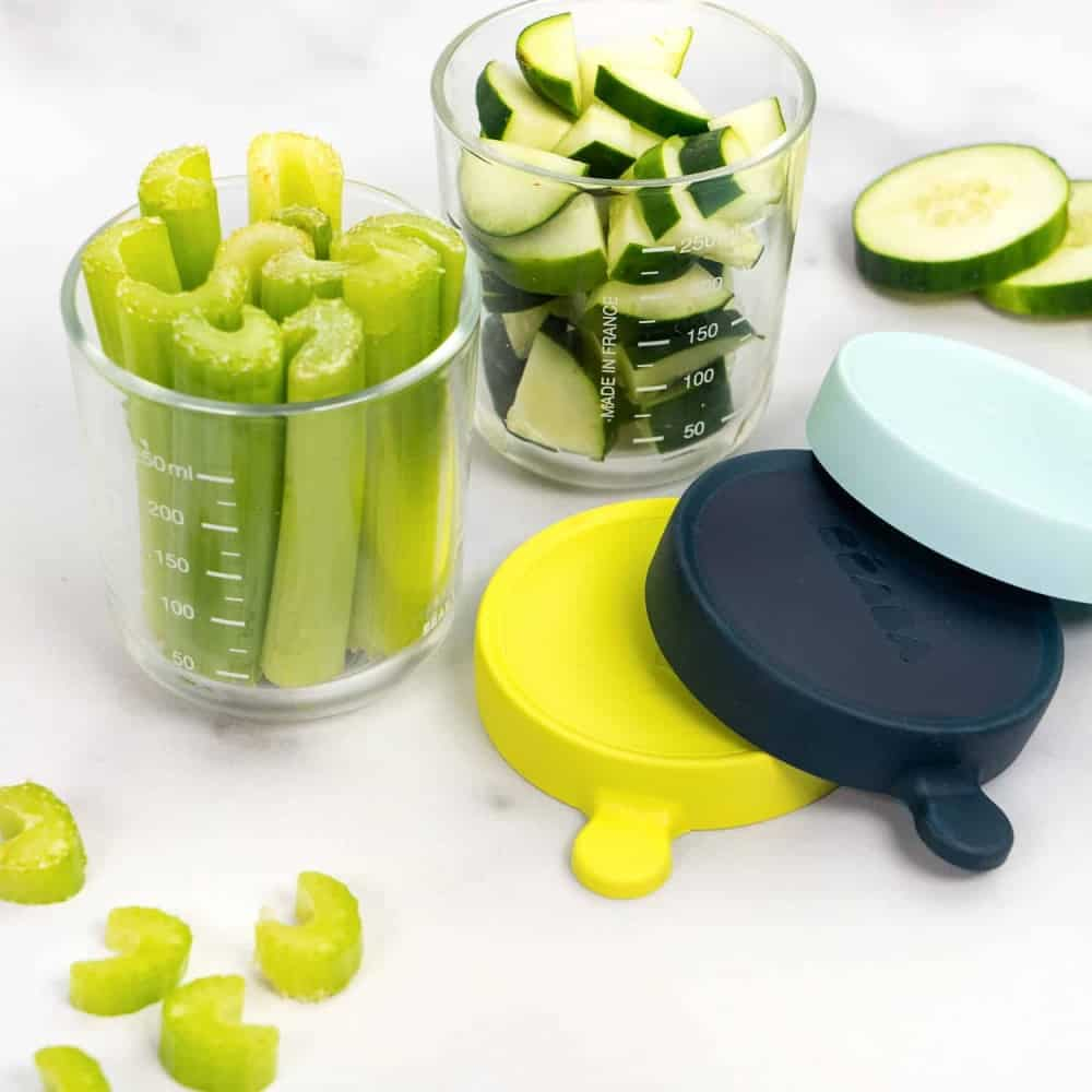 Beaba Glass & Silicone Container