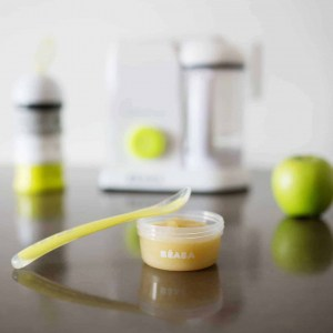 Béaba First Stage Silicone Spoon - Neon