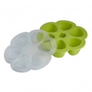 Béaba Multiportions™ Silicone Tray in Neon