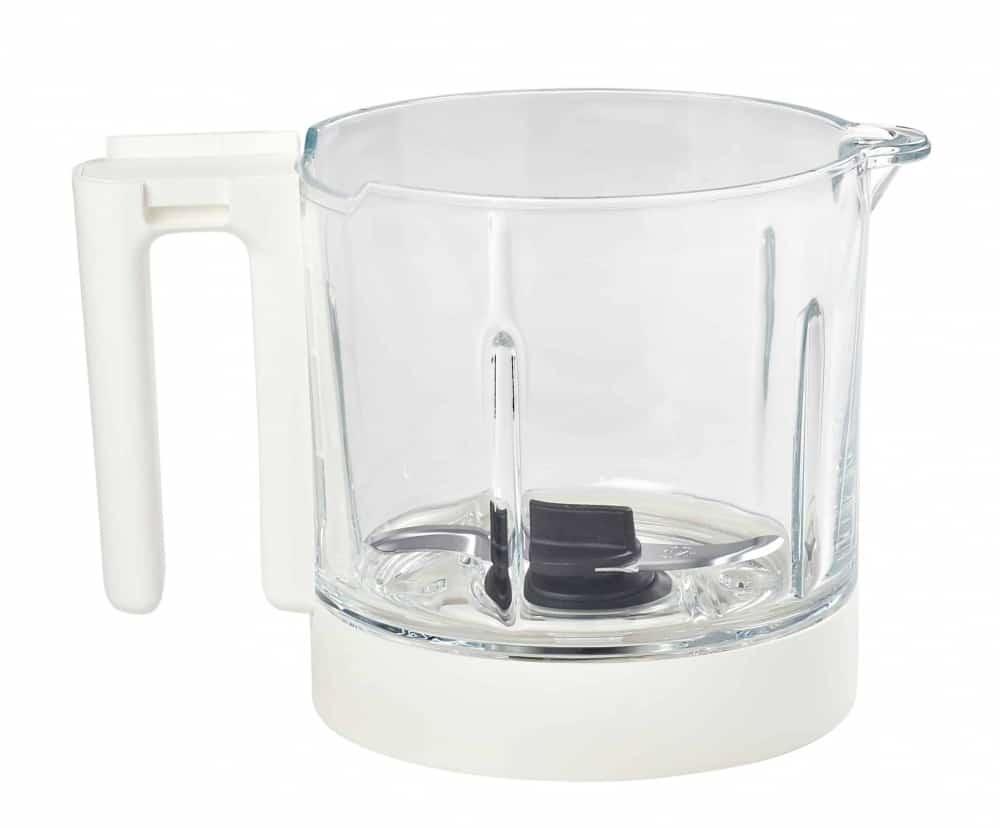 beaba babycook neo midnight glass blending bowl
