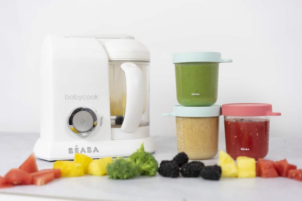 BEABA Babycook Baby Food Maker in White near purees