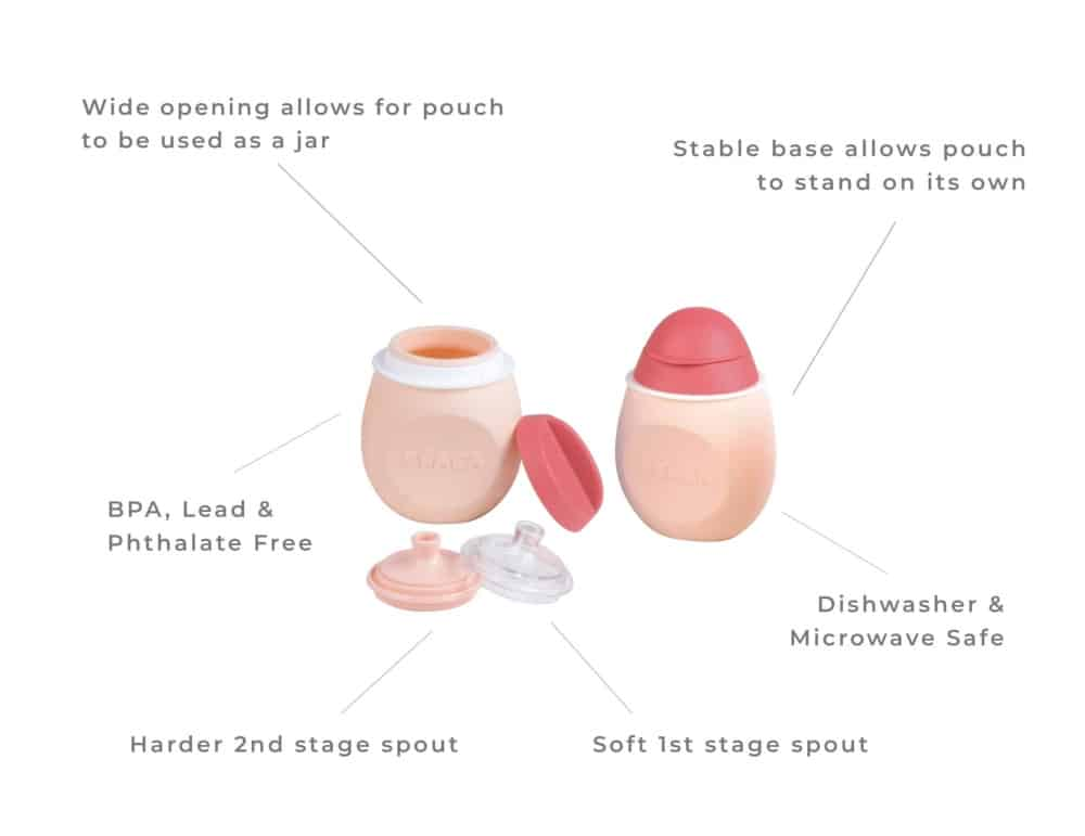 Beaba BabySqueez - Pink Description