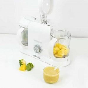 BEABA Babycook Duo White with Pineapple Puree