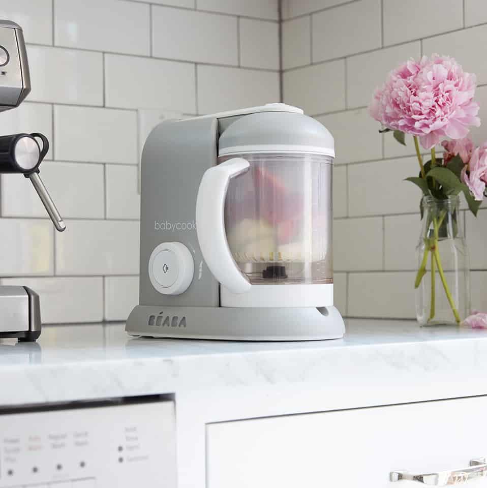 babycook on kitchen counter