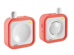 Béaba MiniCall Audio Baby Monitor - Coral