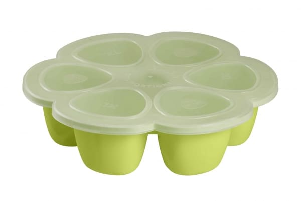 Béaba Multiportions™ Silicone Tray – Neon