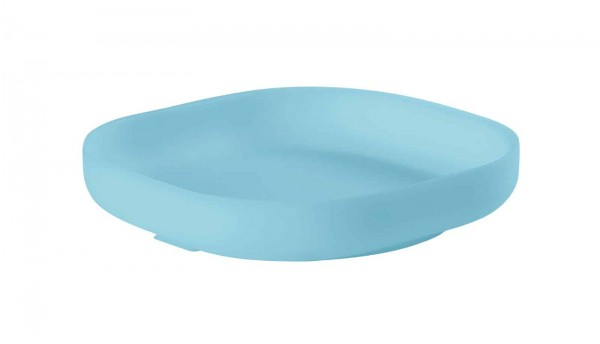 Béaba Silicone Suction Plate - Sky