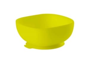 Béaba Silicone Suction Bowl – Neon