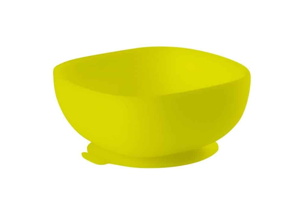 Beaba Silicone Suction Bowl Neon