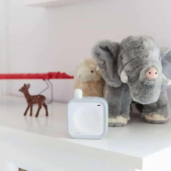 Beaba Minicall Baby Monitor in baby's nursery