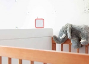Beaba Minicall Baby Monitor on crib