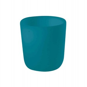 Béaba Silicone Anti-Slip Cup – Peacock