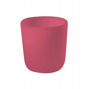 Béaba Silicone Anti-Slip Cup – Pink