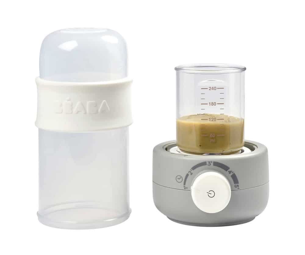 Beaba Babymilk Bottle Warmer Cloud Heating Up Puree
