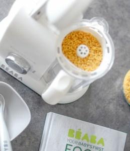 rice pasta grain insert in babycook