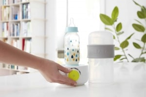 Béaba BabyMilk 3-In-1 Bottle Warmer - Neon