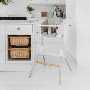 BEABA Up & Down High Chair in Kitchen