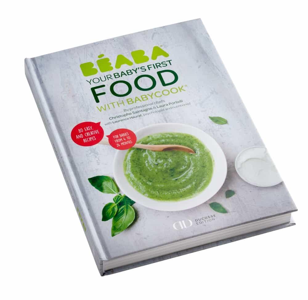 BEABA Baby's First Foods Ducasse Cookbook
