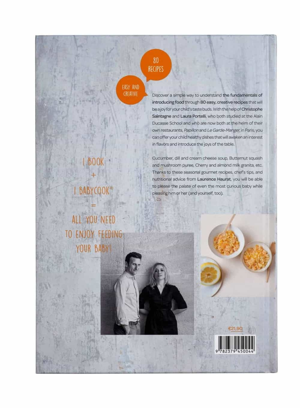 Cookbook: Baby's First Foods with Babycook – Alain Ducasse Edition