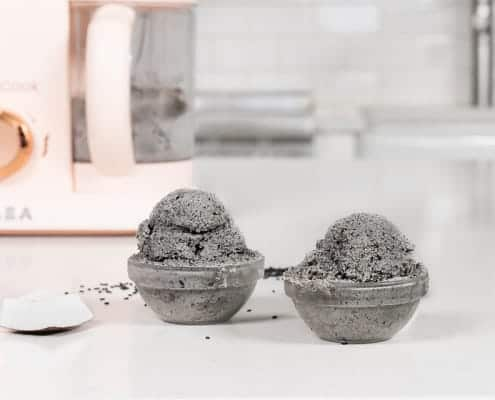 black sesame nice cream