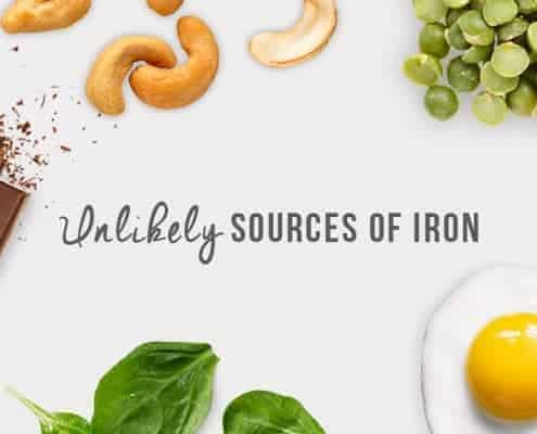 unlikely sources of iron