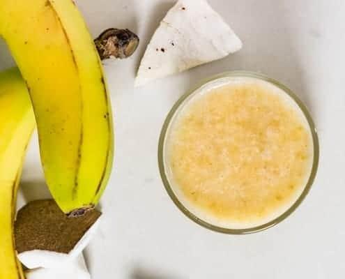 banana coconut puree