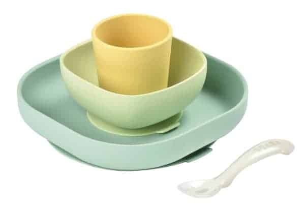 NEW! Béaba Silicone Suction Meal Set - Pastels