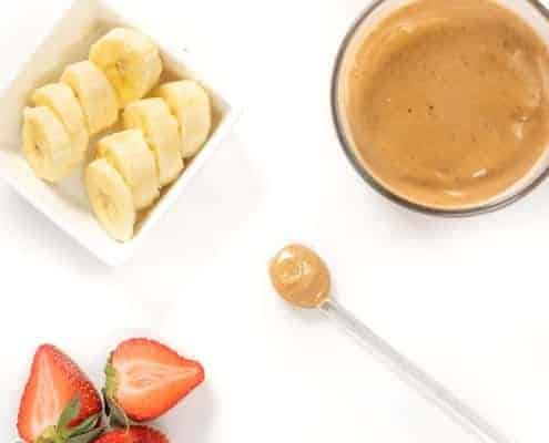 Peanut Butter and Jelly Puree