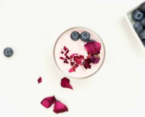 Rose and Strawberry Puree