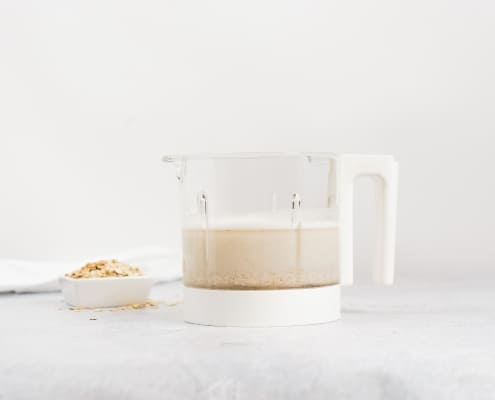 Oat Milk in Babycook Bowl