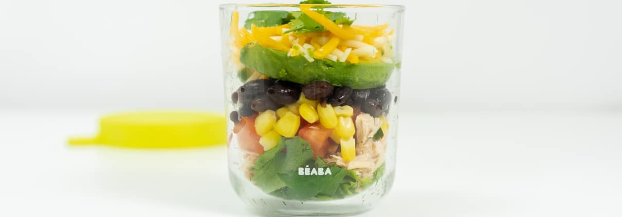 Southwestern Snack Pot in Glass Container
