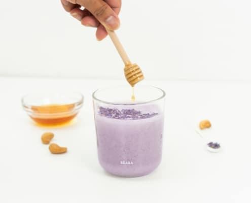 Lavendar Moon Milk