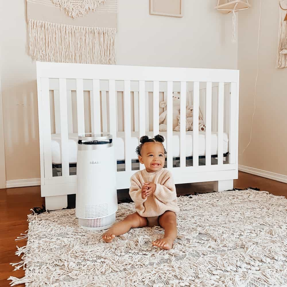 Air Purifier With Baby
