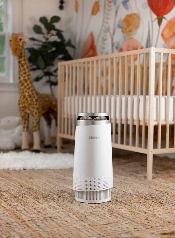 Beaba Air Purifier in baby's nursery