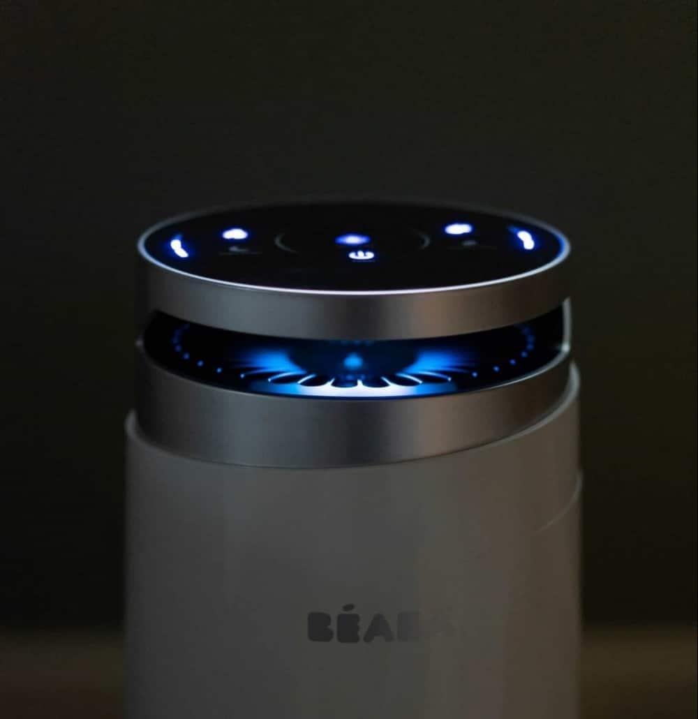Beaba Air purifer at night