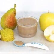 Apple Pear Puree
