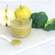 Apple Broccoli Puree