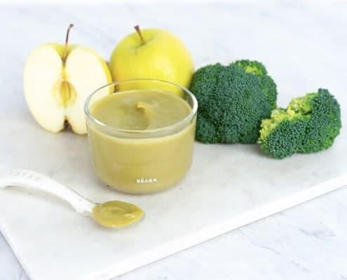 Apple Broccoli Puree