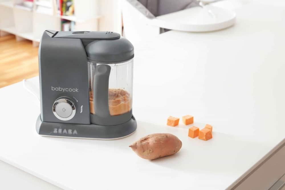 Babycook Charcoal with Sweet Potato Puree