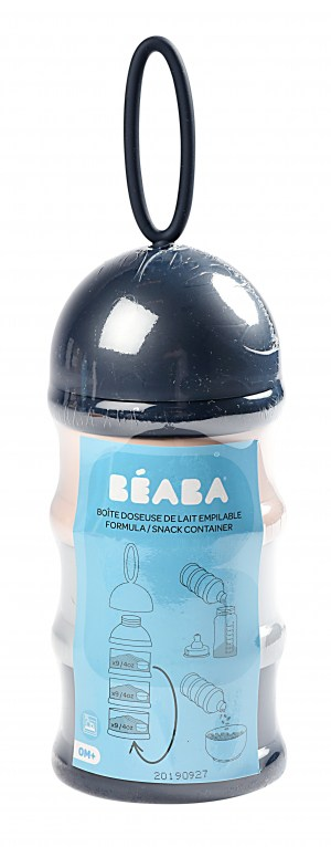 Béaba Formula and Snack Container - Midnight