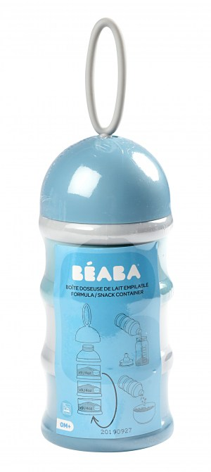 Béaba Formula and Snack Container - Rain