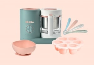 beaba chef set in blush