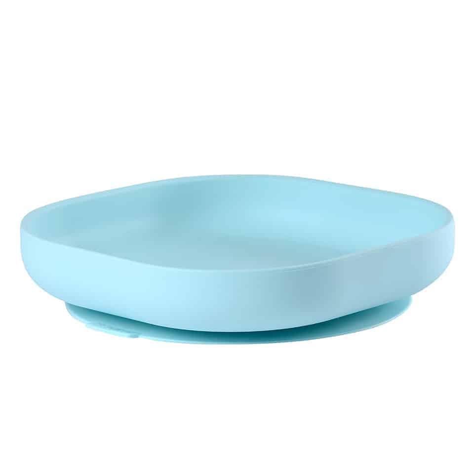 Beaba Suction Silicone Plate Rain