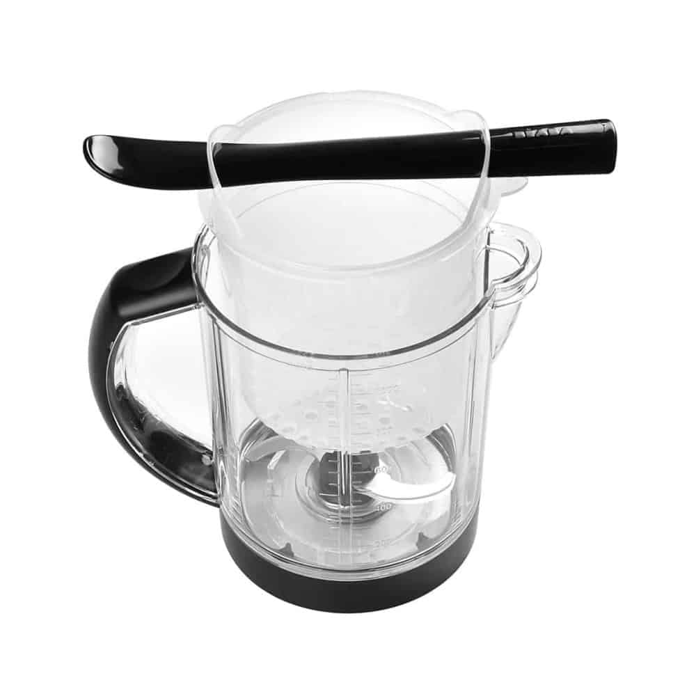 Beaba Babycook Black with mixing spatula