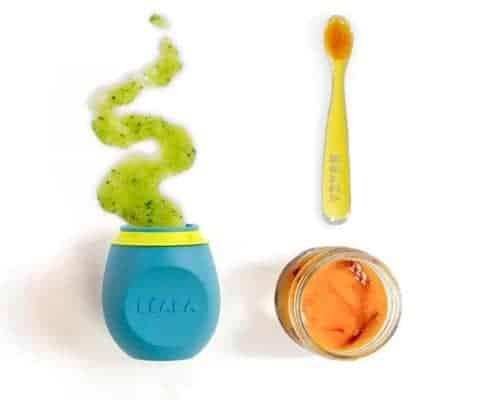 Spoon vs. Pouch Feeding