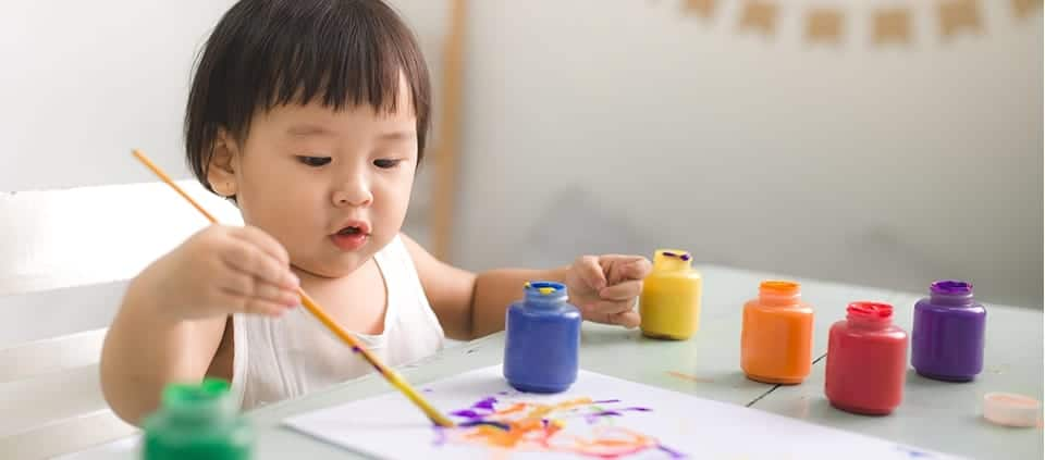 how to get creative with your kids