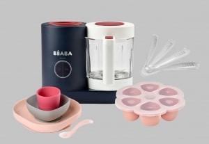BEABA Raspberry Chef Set