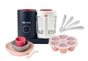 BEABA Raspberry Chef Set